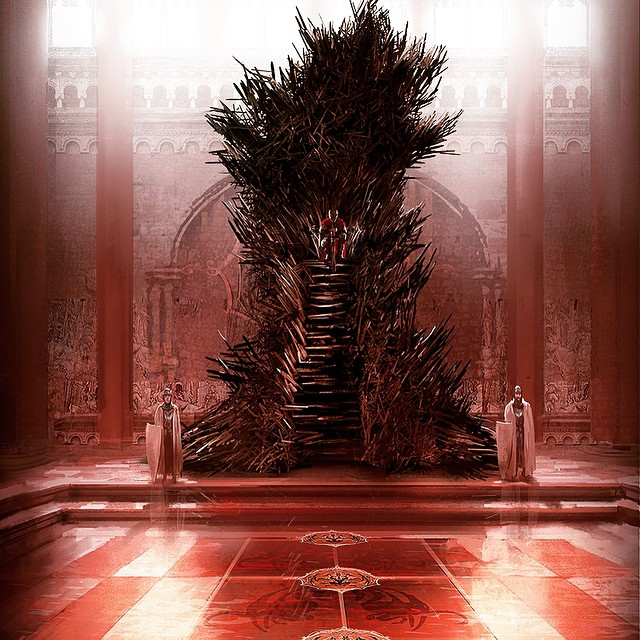 The Iron Throne as conceived by Marc Simonetti
