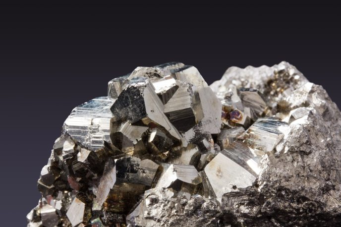 The platinum-group metals are six noble, precious metallic elements clustered together in the periodic table.