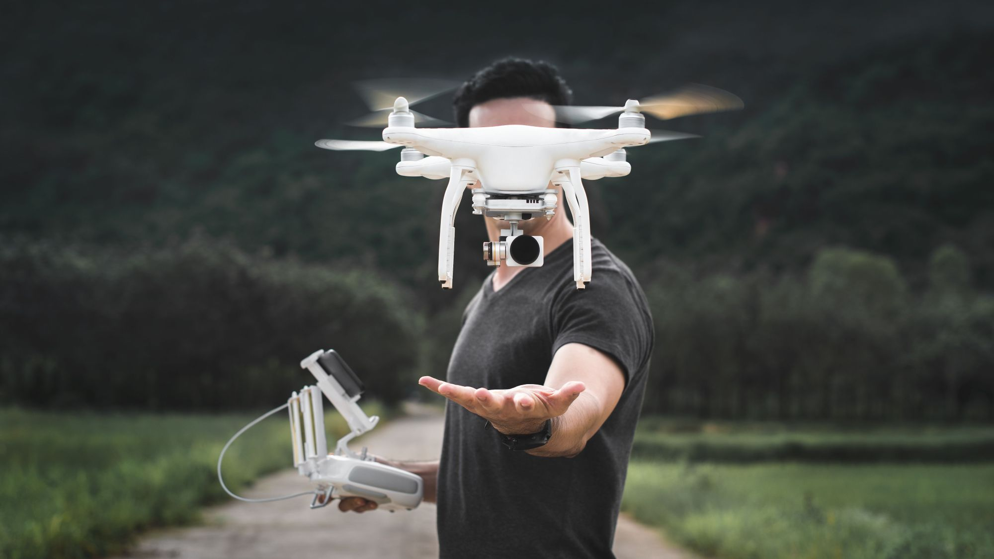 What drones are made of?