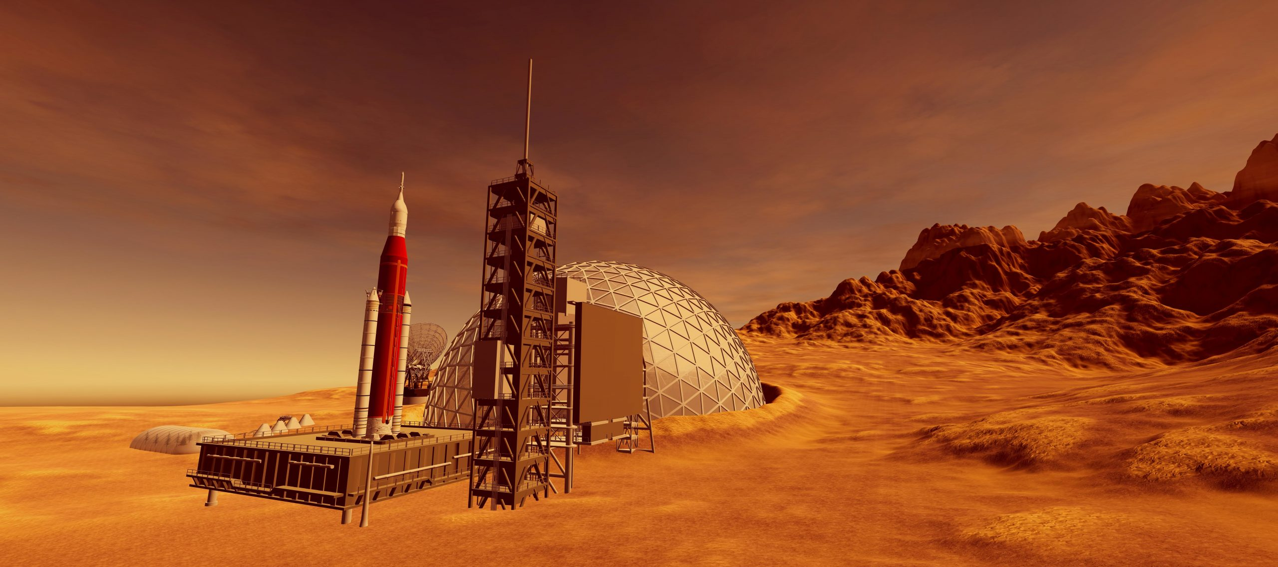 What exactly would a colony on Mars look like and how would it operate?