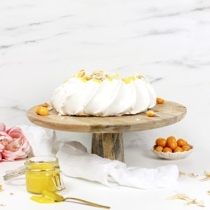 Pavlova med sitronkrem