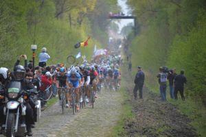 Paris Roubaix 2014 - 13/05/2014 - passage de la trouée d'Arenberg
