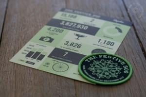 Festive500 Badge