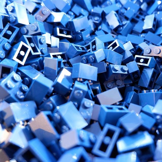 LEGO/ブロック青