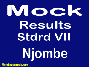 Matokeo ya mock darasa la saba 2021 Njombe, Mock results darasa la saba 2021 Njombe, matokeo ya mock ya darasa la saba 2021 mkoa wa Njombe, matokeo ya mock standard seven