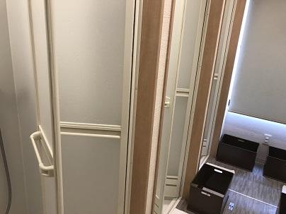 ホットヨガ教室ロイブのシャワールーム