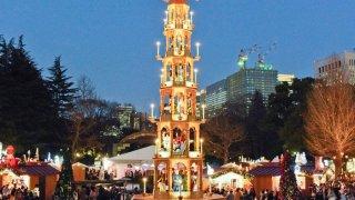 日比谷公園クリスマスマーケット2019の混雑予想!無料駐車場は?