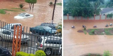 These photos were taken near the Uganda Museum by The Observer.