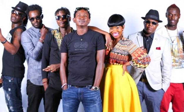 Nameless, Maurice Kirya, Jose Chameleone, Eric Wainaina, AY and Rabbit