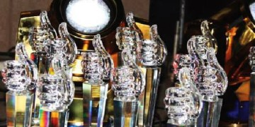 The SMA trophies.