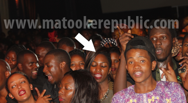 Irene Ntale was reduced to a spectator.