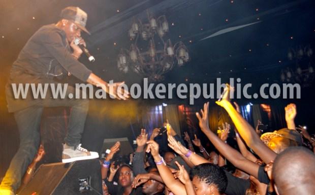 Wizkid got so much love from Kampala peeps.