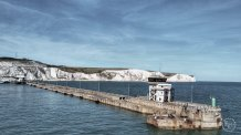 Island arrival - Dover harbour