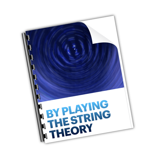 By playing the String Theory — my new book on Apple Books