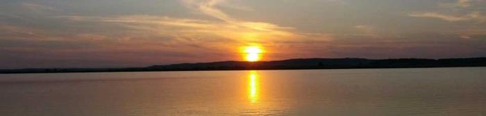Matrac gárdonyban nincs, de a naplemente gyönyörű