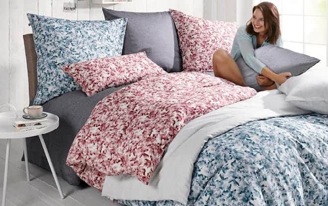 What fabric bed linen is better