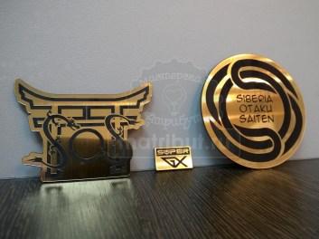 Значки для фестиваля Siberia Otaku Saiten