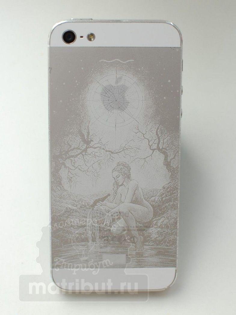 Гравировка на iphone5