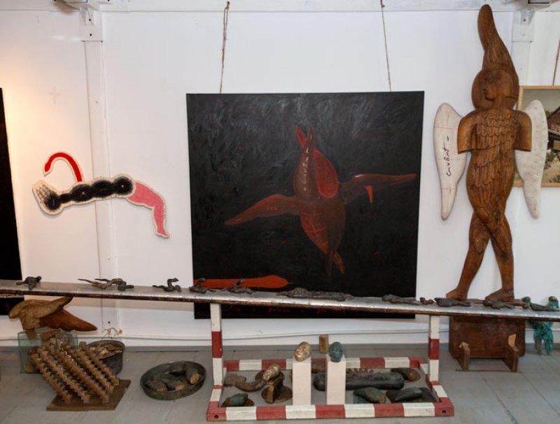 Atelierul Zidarilor este un loc al reflecţiei şi al simbolismului