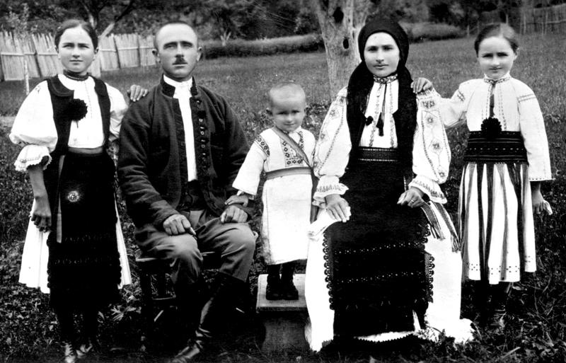 Familie română, secolul al XIX-lea