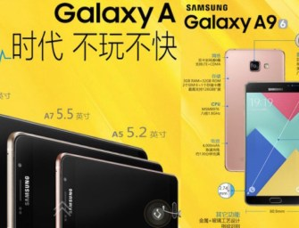 Samsung's Galaxy A9 is Official, and it Has a 4.000mAh Battery