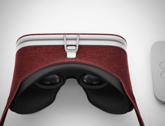 Google's Daydream View Headset Now Available in Crimson and Snow