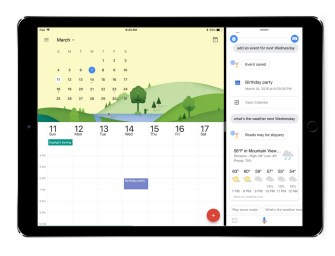 Google Brings the Assistant to the iPad