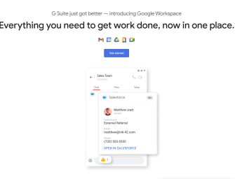 G Suite gets revamped as Google Workspace, complete with deeper product integration