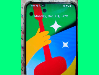 Google Pixel 5 Pro allegedly leaks in new live images