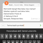 quick reply email MIUI 6
