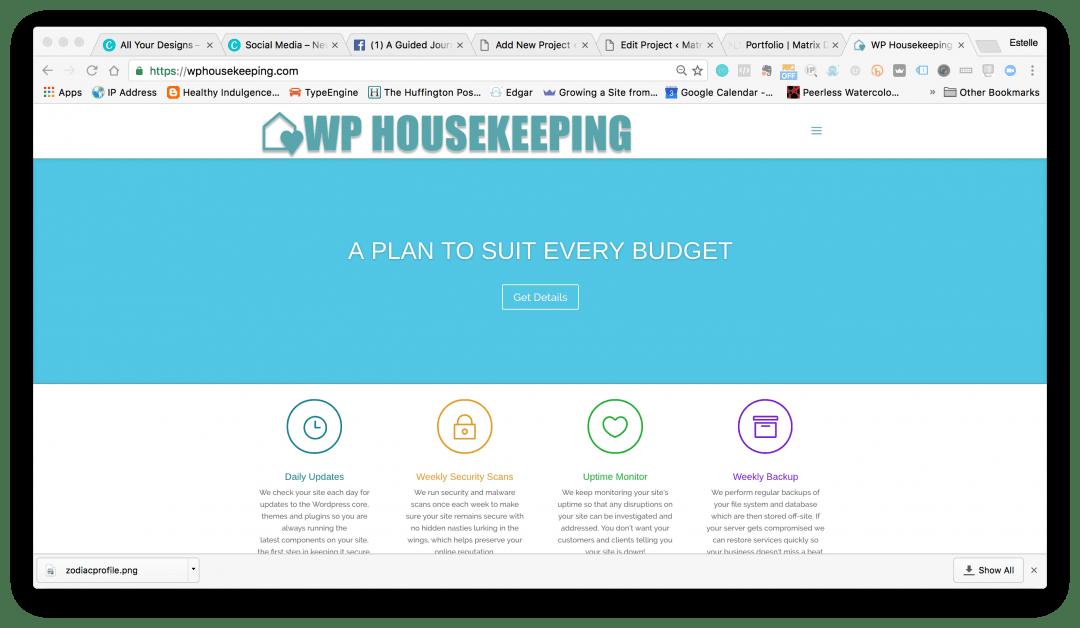 WP Housekeeping