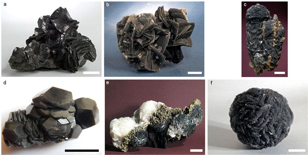 Black-Calcite