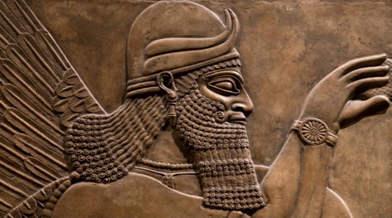 A bas-relief thought to be of Marduk