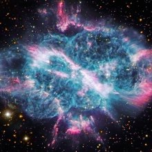 Age Of The Universe Portrait Of NGC 5189: New Light On An Old Planetary Nebula
