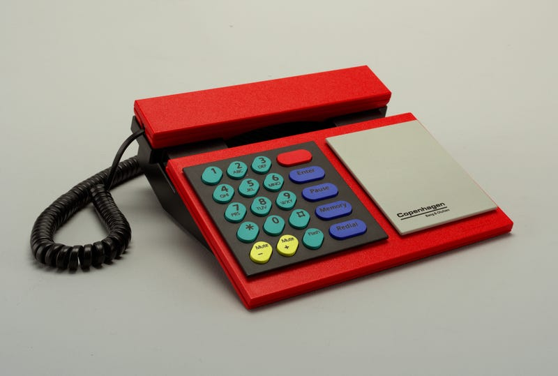 The Beocom Copenhagen Telephone, designed by Lindinger-Loewy.
