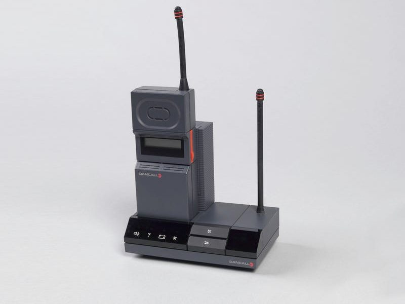 The Dancall 5000 Cordless Telephone, designed by John Stoddard.