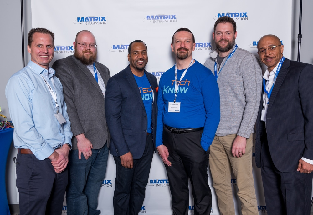 Some Matrix Team members at TechKNOW