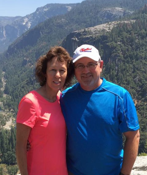 Doug Libbert, VP Finance and Certified Management Accountant and wife enjoying vacation