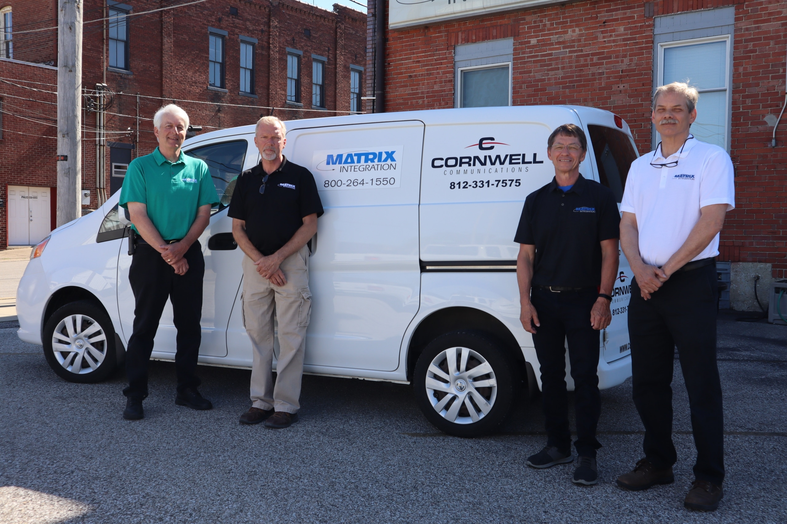 Cornwell Communications is now Matrix Integration with new Vehicle logo
