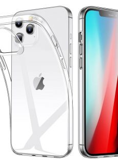 Apple iPhone 12 iPhone 12 Pro Project Zero Silicon TPU Case - Clear4-2