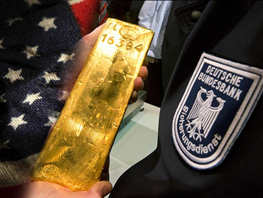 Pri povlačenju svog zlata iz Amerike, Njemačka dobila poluge s tuđim oznakama