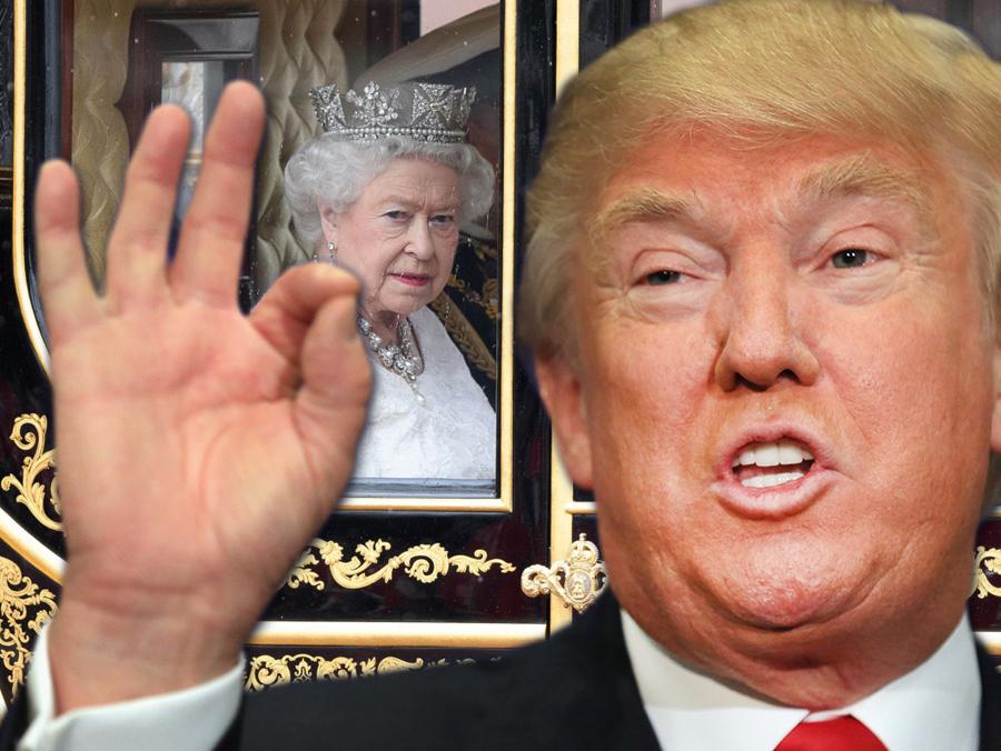 Trump se želi voziti u kraljičinoj pozlaćenoj kočiji tijekom posjete Britaniji