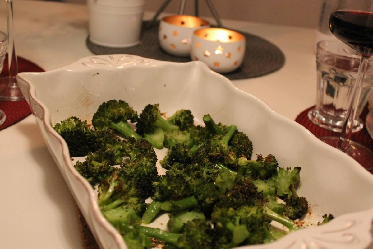 Ugnsstekt broccoli
