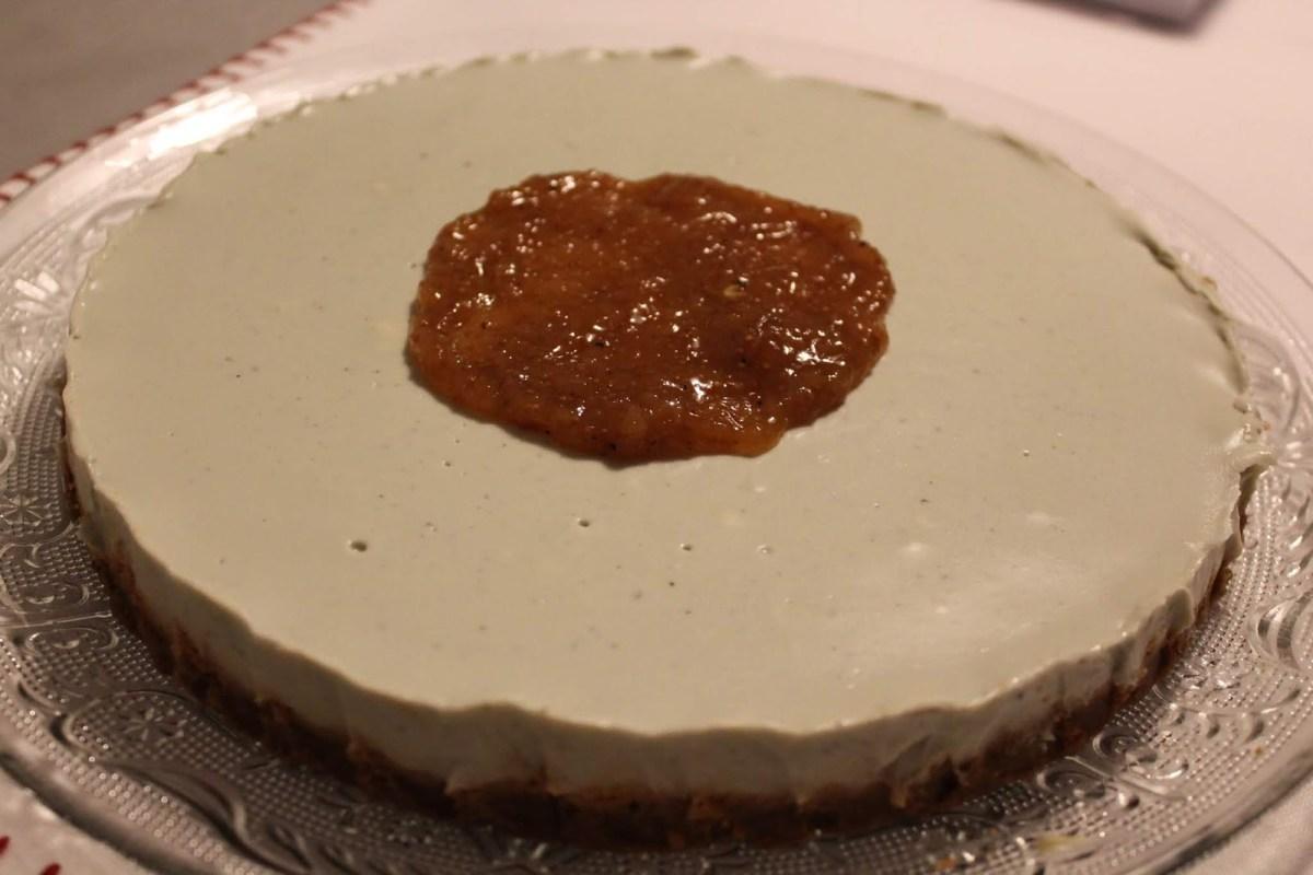 Pepparkakscheesecake med ädelost