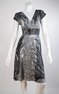 Grey Fern Veronica Lake Dress