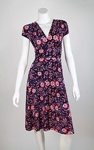 Short Poppy Veronica Lake Dress