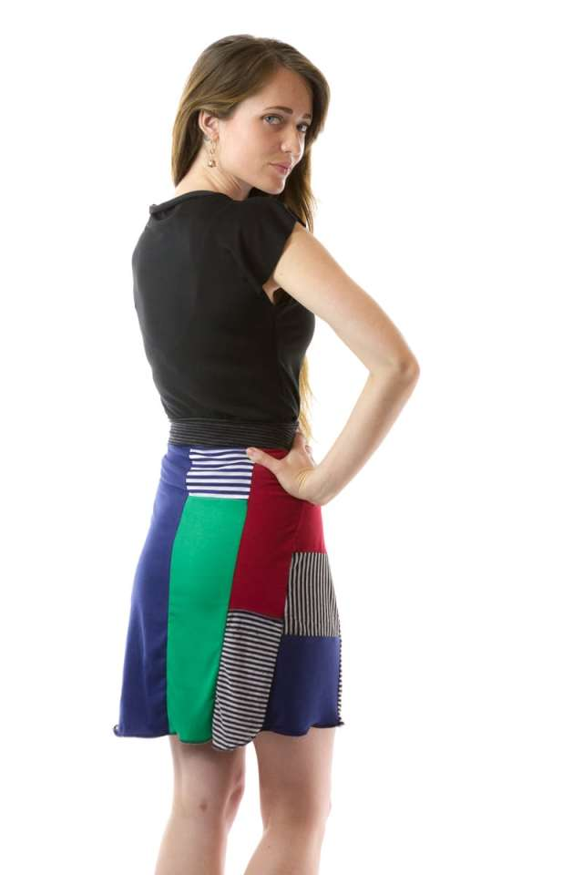 Patchy Skirt
