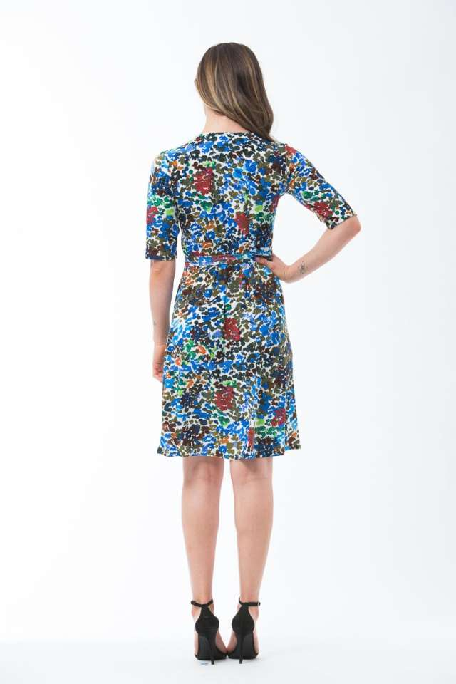 Monet Wrap Dress