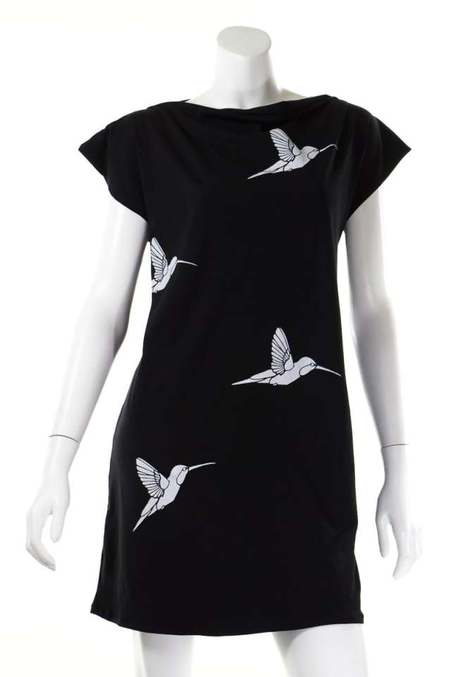 Hummingbird T-Shirt Tunic