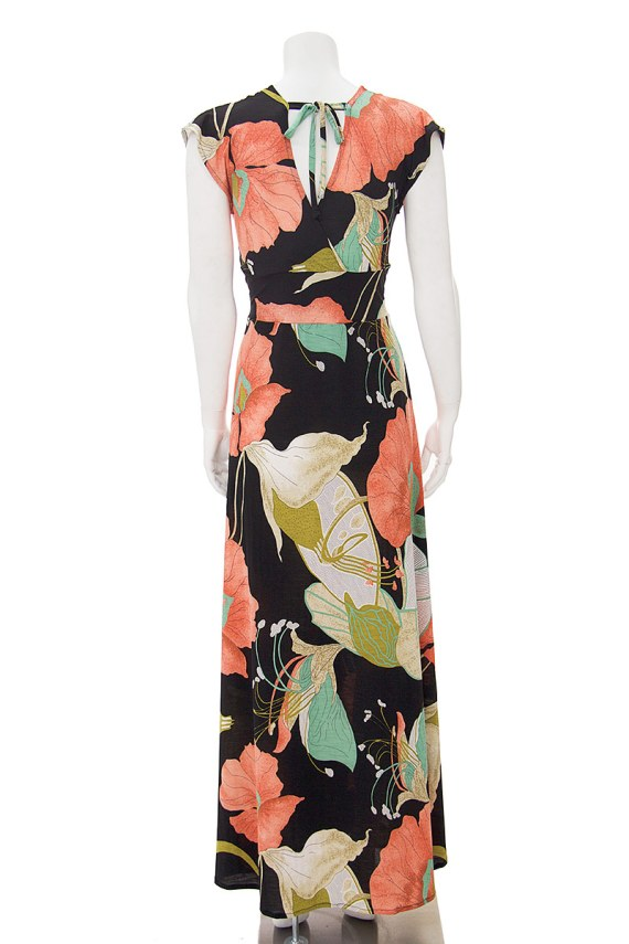Orchid Veronica Lake Maxi Dress